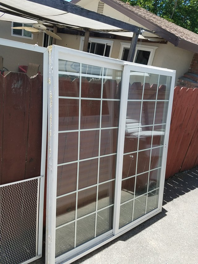 Sliding Glass Door Dual Pane Buildingconstruction For Sale On