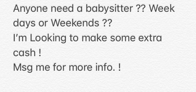 do you need a babysitter baby kids for sale on polk bookoo