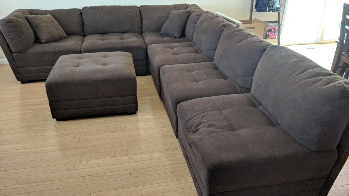 7 Piece Modular Sectional Sofa Furniture Home By Owner For Sale