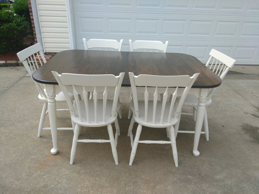 Superieur Ethan Allan Table W 6 Chairs In Fort Campbell