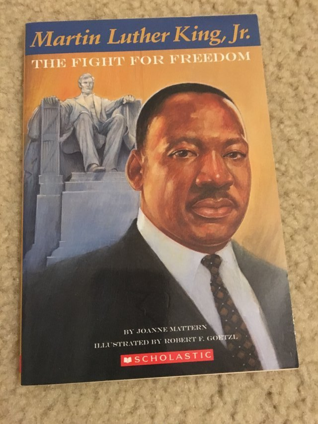 Martin Luther King Jr The Fight For Freedom Book Books Childrens