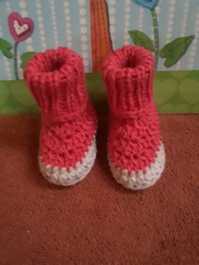 Knittedcrochet Baby Booties Baby Kids For Sale On Hood Yard Sales