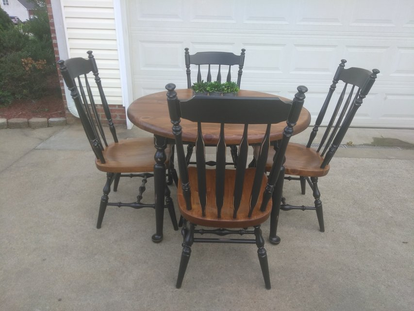Genial Ethan Allan Table W 4 Chairs In Fort Campbell
