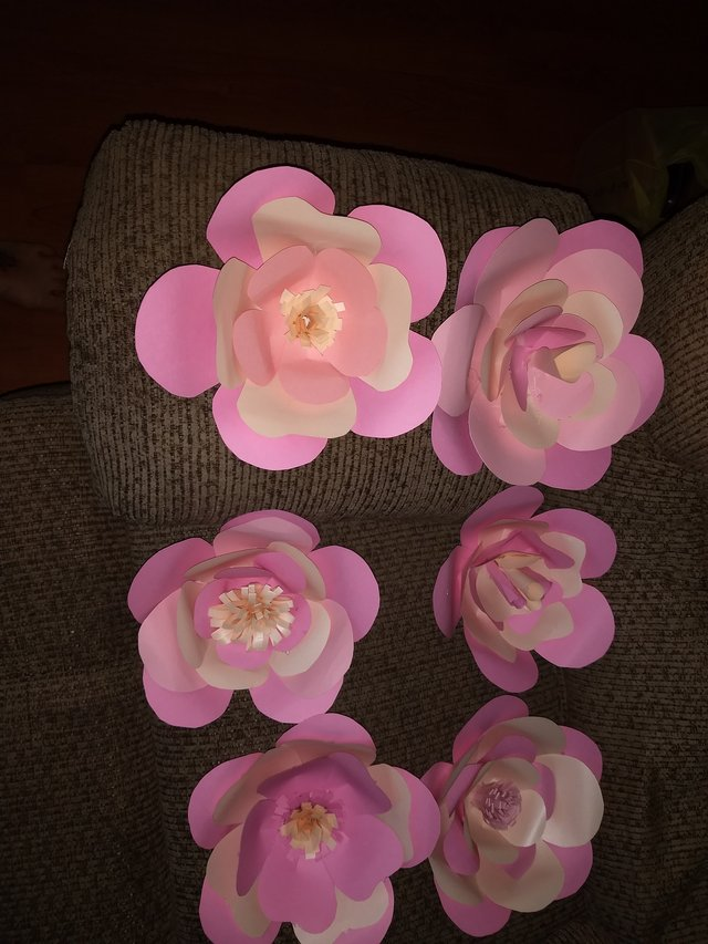 Paper Flowers Hobby For Sale On Fort Campbell Bookoo