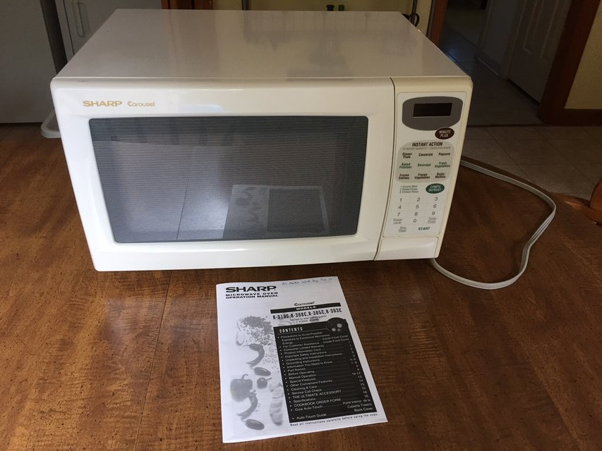 Sharp Microwave Manual