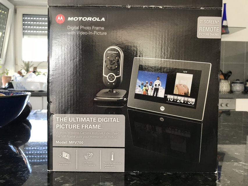 Motorola Digital Photo Frame W Videoinpicture Brand New Photo