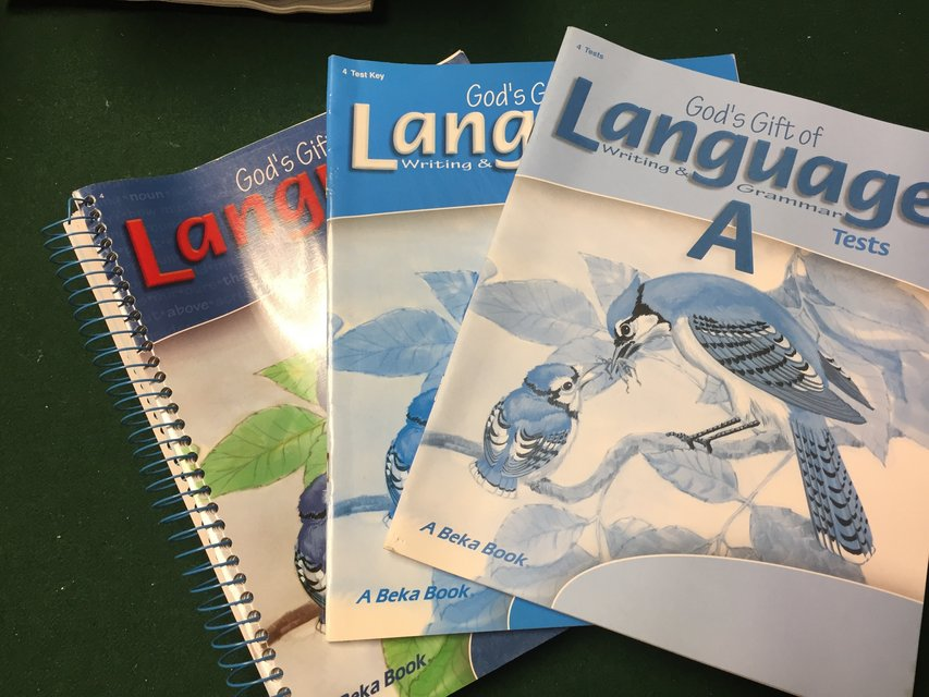 4th Grade Language Abeka Curriculum Books Textbooks For Sale On
