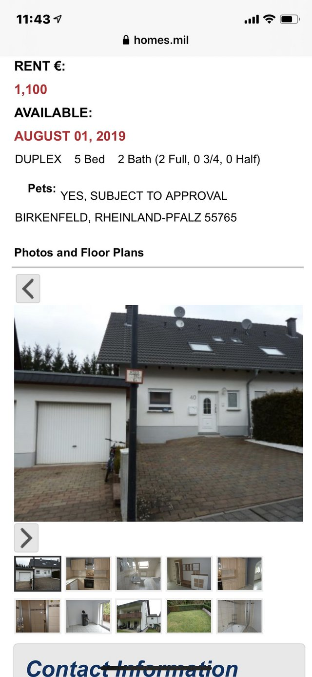 House For Rent Rental By Owner For Sale On Ramstein Bookoo